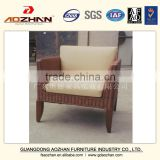 Simple Hotel Furniture Solid Wood Sofa