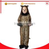 wholesale fashion leopard skirt dress sexy latex catsuit animal costume for girls