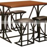 Factory Manufacturer Direct Wholesale high quality US style outdoor bar table and chair sets