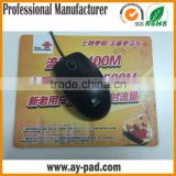 AY natural rubber cutomized usb heated mouse pad for promotion