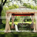 Luxury big outdoor gazebo garden camping tent with curtain China manufacture