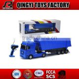 HOT!!1:32 RC Car Model Mercedes-Benz licensed 6 CH RC dump truck for sale from shantou chenghai factory                                                                         Quality Choice