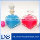 50ml High quality wholesale highly-white transparent glass perfume bottle with glass cap                                                                         Quality Choice