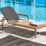 wholesale china manufacture Modern cheap wooden sun lounger                                                                         Quality Choice