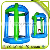 High Quality NEVERLAND TOYS Cheap Funny Float Swing Air Bouncer Inflatable Water Trampoline Rental