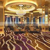 Floral pattern carpets High quality carpets for Banquet Fireproof carpet