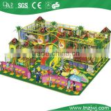 animal zoo playground children three slides amusement equipment with ball pool
