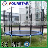 Yongkang Fourstar wholesale 15FT commercial bungee trampoline ,trampoline tuv ,cheap PVC trampoline for sale,