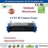 2014 new laptop led screen cctv cable ip camera tester DC12V PTZ cctv network tester wifi (HK-TM806IPC)