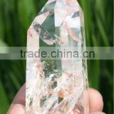 Natural Clear Quartz Crystal Wand with Beautiful Simulation