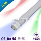 Competitive price Tubo led CE RoHS 18W 2ft t8 led tube CRI>80 100lm/w free pom korea tube8 led light 12 m t8 sex red tub