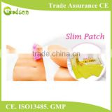 Support CE ISO effective weight loss natural chinese slim patch