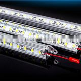 Super brightness jewellery exhibition led cabinet light led rigid strip bar bar light made in china