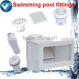 swimming pool gutter drain / pool skimmers