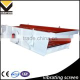 High efficiency vibrating screener/sand screening machine for aggregate production plant
