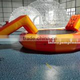 2016 Newly Inflatable water trampoline Float,Cheap Inflatable AQUA trampoline with water slider