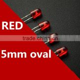546 5mm Red Color Emitting Diode LED Light for single color Module