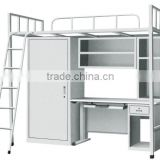 2016 Latest Metal Bed designs Single Dubai Bunk Bed Replacement Parts