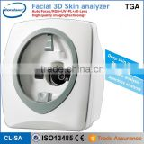 Portable Magic Mirror Facial Skin Analyzer / skin analysis machine