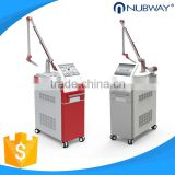 China supplier laser tattoo removal system 1064 nm 532 nm q switch nd yag laser with CE approved