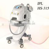 Floor standing e-light photo facial and IPL SHR pain free and fast depilation aesthetic system