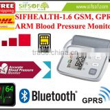SIFHEALTH-1.6 Wireless Bluetooth Blood Pressure Analyser, WHO Classification Indicator, GSM, GPRS