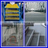 Professional manufacture hot dipped flooring grating galvanized steel bar grating (ISO9001:2008) made in China