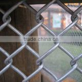 Hot Selling!High Quality Cheap Chain Link Fence top barbed wire/cyclone fence