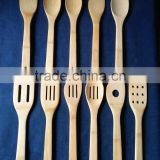 11 Pcs Bamboo Kitchen Tool Set/wholesale bamboo utensil,spatula,spoon,turner