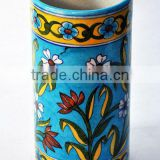 Blue Pottery Vases , Blue Pottery Decorative Pot