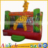 Hot sale commercial inflatable horse bouncer used commercial inflatable bouncers for kids garden playhouses