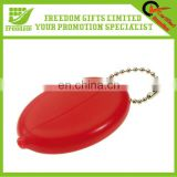 Custom Logo Promotional PVC Coin Purse Keychain