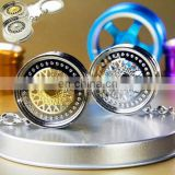 Car Auto Tuning Parts Key Chain Gold-Color BBS Wheel Rime Keychain Keyring