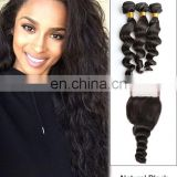 2017 hot sale loose wave brazilian hair bundle hair salon equipment