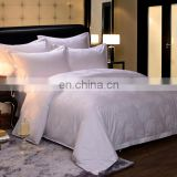 China Supplier 100% Cotton Stripe/Satin/Jacquard/Plain Hotel Bed Sheet Cotton