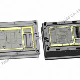 Air conditioning plastic injection mould