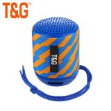 TG129 mini portable wireless speaker with bass sound quality fabric bluetooth speaker supported OEM