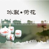 Chinese silver tea set& tea table and chairs set With tea for one set wholesale,tea set glass