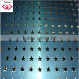 Stainless Steel Perforated Sheet, 1 to 20m Length, 1 to 1.5m Width with ISO9001 Certificate