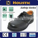 Made in Taiwan High Quality Brand Low Cut Black steel toe Leather Industrial Safety Shoe