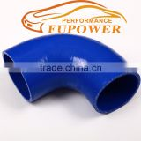 "2.25"" to 2.25 Inch (57mm) 90 Degree Silicone Reducer Elbow Hose for Turbo intercooler /Radiator Coupler Hose pipe- blue"