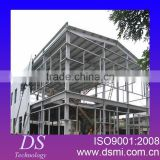 long&wide span steel structure roof sheet greenhouse