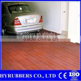 Factory produced high quality Colorful rubber floor tile outdoor