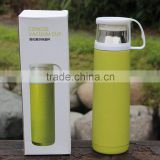 COLORFUL DOUBLE WALL VACUUM FLASK WITH WHITE BOX PACKAGING                                                                         Quality Choice