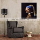 Professional Oil Painting Supplier Supply Handmade High Reproduction Girl With a Pearl Earring Oil Painting On Canvas
