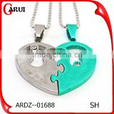 Wholesale Alibaba Charms Broken Heart Pendant Baby Accessories
