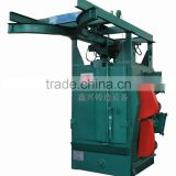 Big size casting product cleaning rotary hook type shot blasting machine