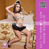 Wholesale low price popular style Sexy lingerie french maid costumes