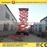 electric drive industrial self-propelled mobile elevated lift aerial working platform scissor lift
