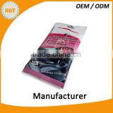 China Factory disposable wet wipes non-woven individually wrapped Auto car care cleaning